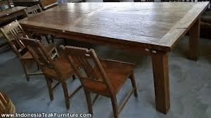 table teak wood furniture bali teak furniture