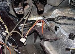 1968 corvette interior wiring and interior installation c3 corvette restoration guide