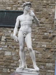 copy of statue of david piazza della signoria by ejkorvette on