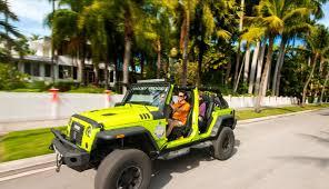 rent a jeep wrangler in miami key car rental company key jeep adventures