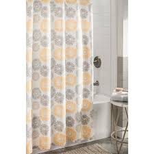 shop allen roth polyester multi floral shower curtain at lowes com