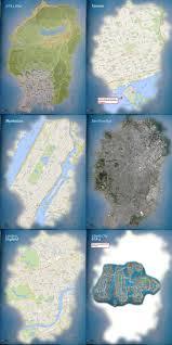 Map Size Comparison Grand Theft Auto V U0027 Game Map Leaks Online Bi