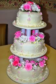 wedding cake jakarta murah mypu3 cake house 3 tier fondant wedding cake
