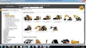 jcb spp 2017 spare parts catalog and service repair manuals
