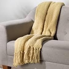three posts nader tweed knitted throw blanket reviews wayfair