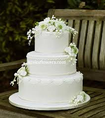 3 Tier Wedding Cake Wedding Cake 3 Tier Areka Flowers