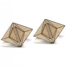 cool stud earrings akhu modern stud earrings diamonds are evil