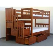 Twin Loft Bed With Stairs Bunk U0026 Loft Beds With Stairs