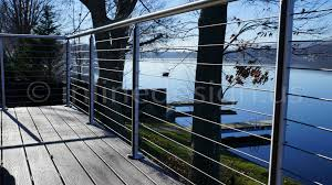 Banister Lake Stainless Steel Railing Of Cable Glass Bar U0026 Handrail Brackets