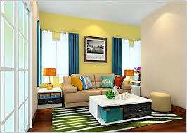 Curtains For Yellow Living Room Decor Curtain Yellow Wall Decorate The House With Beautiful Curtains