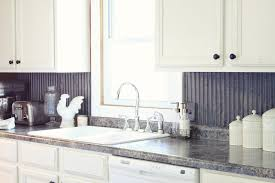 metal kitchen backsplash great home decor elegant style metal