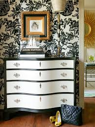 Black And Silver Bathroom Nice Black And White Design Motif Wallpaper With Great Wood