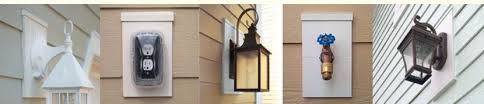 vinyl siding light mount vinyl siding light mounts mid siding components products mid