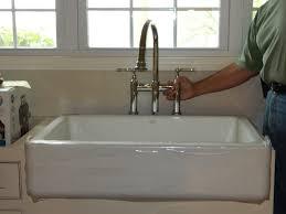 kitchen bridge faucet kohler parq bridge faucet with spray