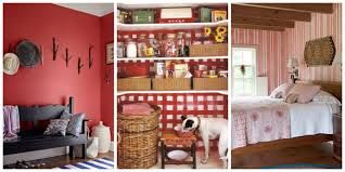Ideas For Decorating Kitchen Decorating With Red Ideas For Red Rooms And Home Decor