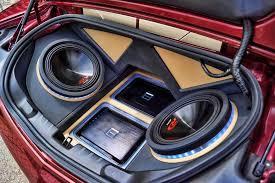 camaro speaker box 2011 custom camaro ss sub enclosure led s halos mr kustom chicago