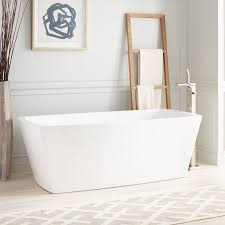 avie acrylic freestanding tub bathroom