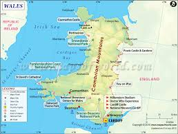 where is wales on the map map of wales wales map