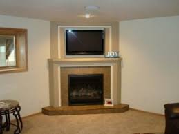 Fireplace Mantels Images by Corner Electric Fireplace With Mantel Foter