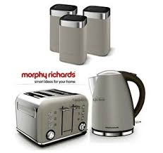 Morphy Richards Toasters And Kettles Morphy Richards Kettle And Toaster Set With Tea Coffee U0026 Sugar
