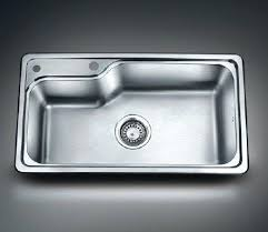 kitchen sink drainer single bowl stainless steel sink large stainless steel single bowl