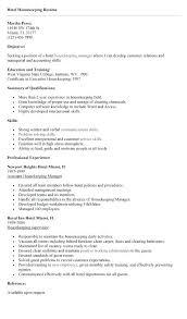hospital housekeeping resume sample unforgettable caregivers