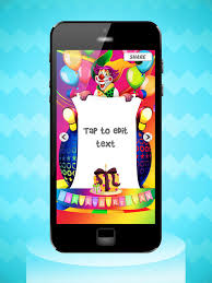 invitation maker app happy birthday cards party invitation maker on the app store