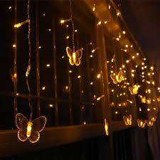 warm white string fairy lights weanas solar power string fairy lights 60 butterfly style leds warm