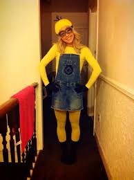 Womens Homemade Halloween Costume Ideas 25 Minion Halloween Costumes Ideas Diy Minion
