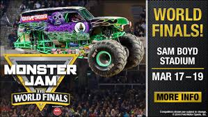 2014 las vegas truck show happiness delivered life love inspire monster jam world finals