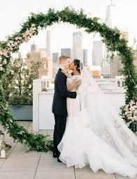 wedding arch greenery 20 trendy summer wedding arches and altars happywedd