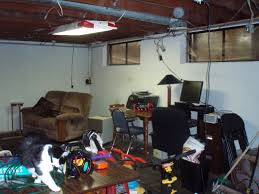the u201cfinished u201d unfinished basement decorum diyer