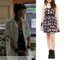 Abby Ncis Halloween Costume Shop Tv Ncis Season 11 Episode 1 Abby U0027s Skull U0026 Rose Dress