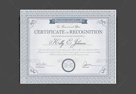 sle certificate of recognition template 55 psd certificate templates free psd format free