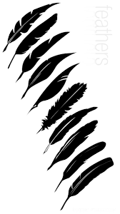 best 25 feather template ideas on pinterest feathers paper