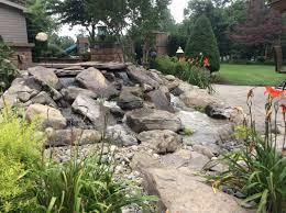 category pondless waterfall installation