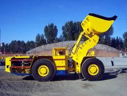 10 maquinaria de mina diesel de subterráneo del metro cúbico lhd