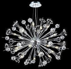 lighting 3400d36 cyclone 24 light chandelier