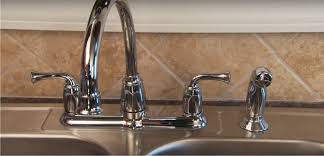 kitchen faucet with spray how to install kitchen faucet sprayer