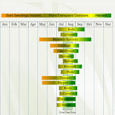 zone 3 vegetable planting calendar describing approximate dates to