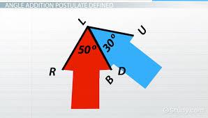angle addition postulate definition u0026 examples video u0026 lesson