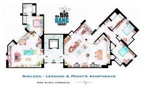 Floor Plans For Apartment Buildings by The Big Bang Theory U201d Apartment Floor Plan Indicates Strangely