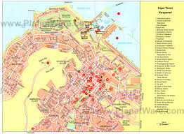 Tourist Map Of San Francisco by 12 Top Tourist Attractions In Cape Town U0026 Easy Day Trips Planetware