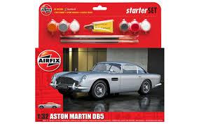 old aston martin logo airfix a50089a aston martin db5 starter set 1 32