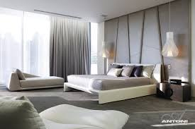 comfort bedroom design at u shaped house design by saota and