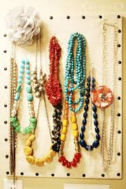 necklace storage display images 57 best organizing jewelry images organizers jpg