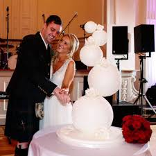 wedding cake glasgow wedding spheres sphere wedding cakes delivered to glasgow