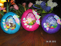 paper mache easter eggs papier mache easter egg baskets southern cricut