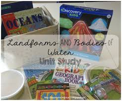 Landform Printable Worksheets Teachermomplus3 Landforms And Bodies Of Water Unit Study