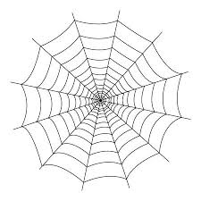 Spider Web Coloring Pages 2 Drawing Vitlt Com Web Coloring Pages